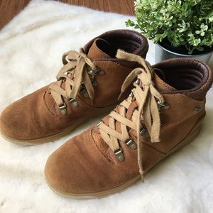 CHACO Men's Adobe Leather Waterproof Boots Sz.8.5